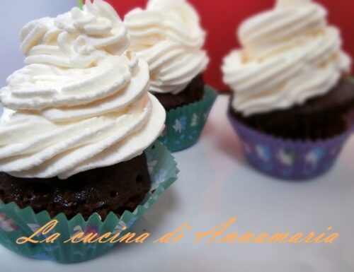 Muffin con cioccolato e ricotta