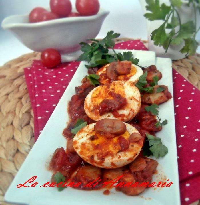 uova sode in salsa