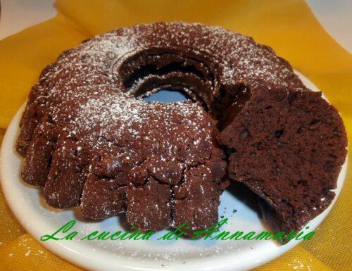 Torta al cioccolato super light (senza burro, uova, latte, olio)