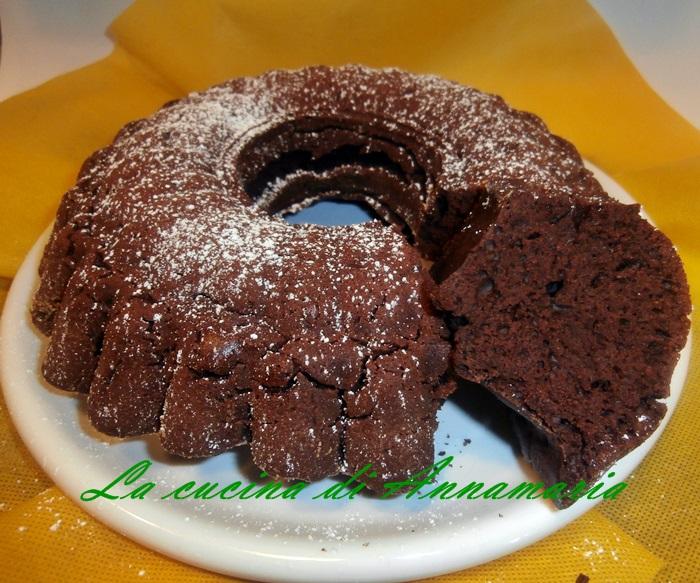 torta al cioccolto super light
