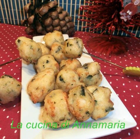 frittelle con zucchine e gamberi
