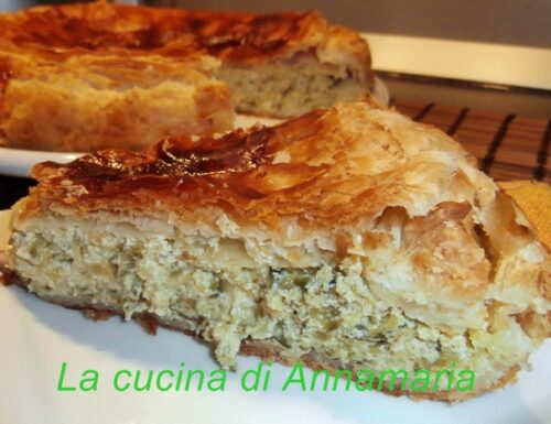 Torta rustica con zucchine mascarpone e ricotta