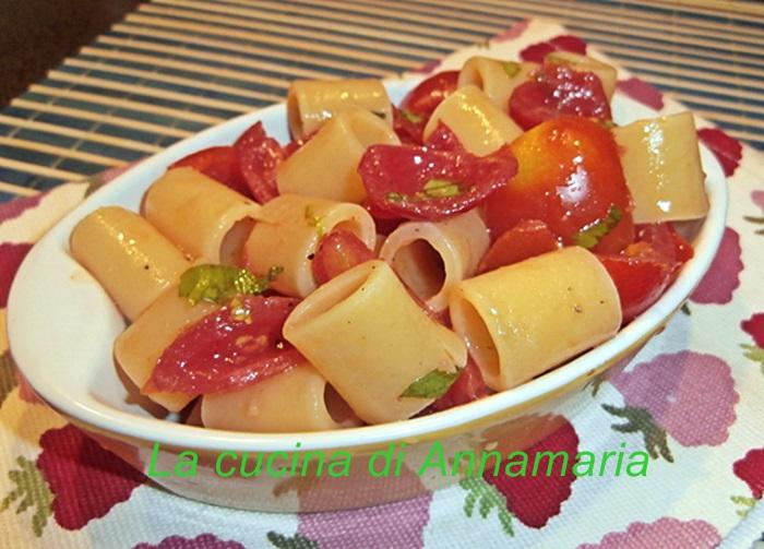 pasta all'insalata