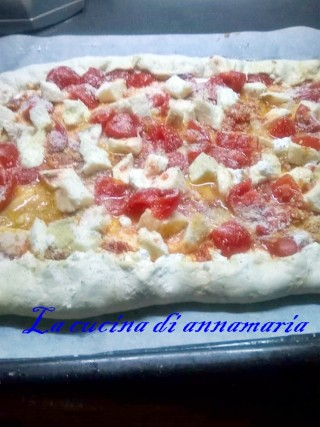 pizza con cornicione ripieno
