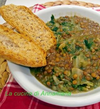 lenticchie e scarole
