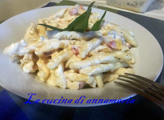 Pasta ai quattro formaggi e pancetta - lacucinadiannamaria ...