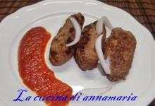 Cevapcici con salsa ajvar