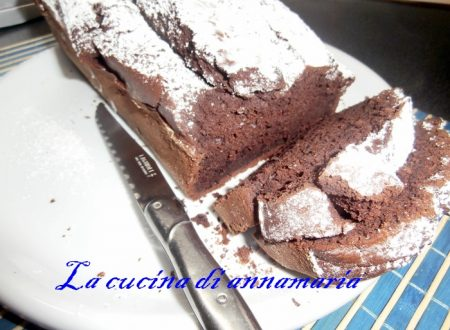 Plumcake al cioccolato morbidissimo