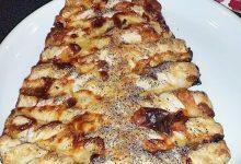 Alberello di pasta sfoglia salato