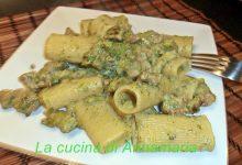 Rigatoni con salsiccia e broccoli