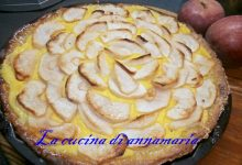 Torta frangipane alle mele annurche di Sal de Riso