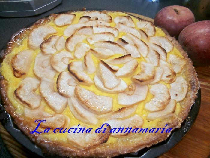 Torta con le mele annurche