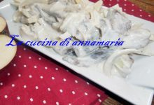Aringa affumicata con panna acida