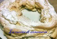 Zeppolone con crema al caffe'