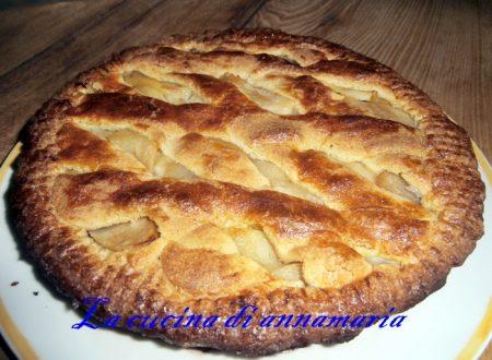 Crostata di mele con farina di avena