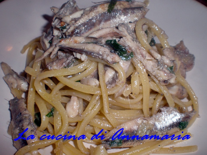 linguine con le alici