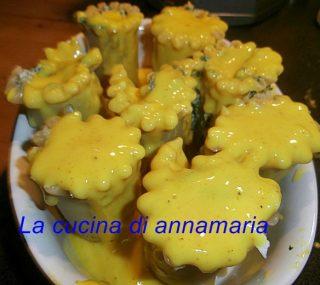 rose di lasagne con ricotta e spinaci