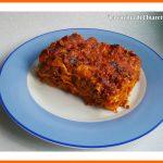 Lasagne alla bolognese vegane