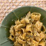 Calamarata con cuori di carciofi, limone e formaggio Valtellina Casera DOP