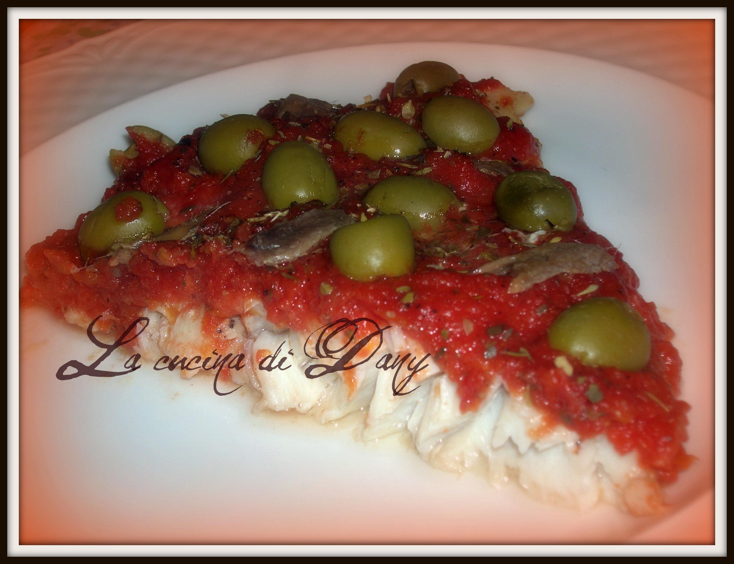 Filetto di pesce persico alla pizzaiola - Cucinare pesce persico ...