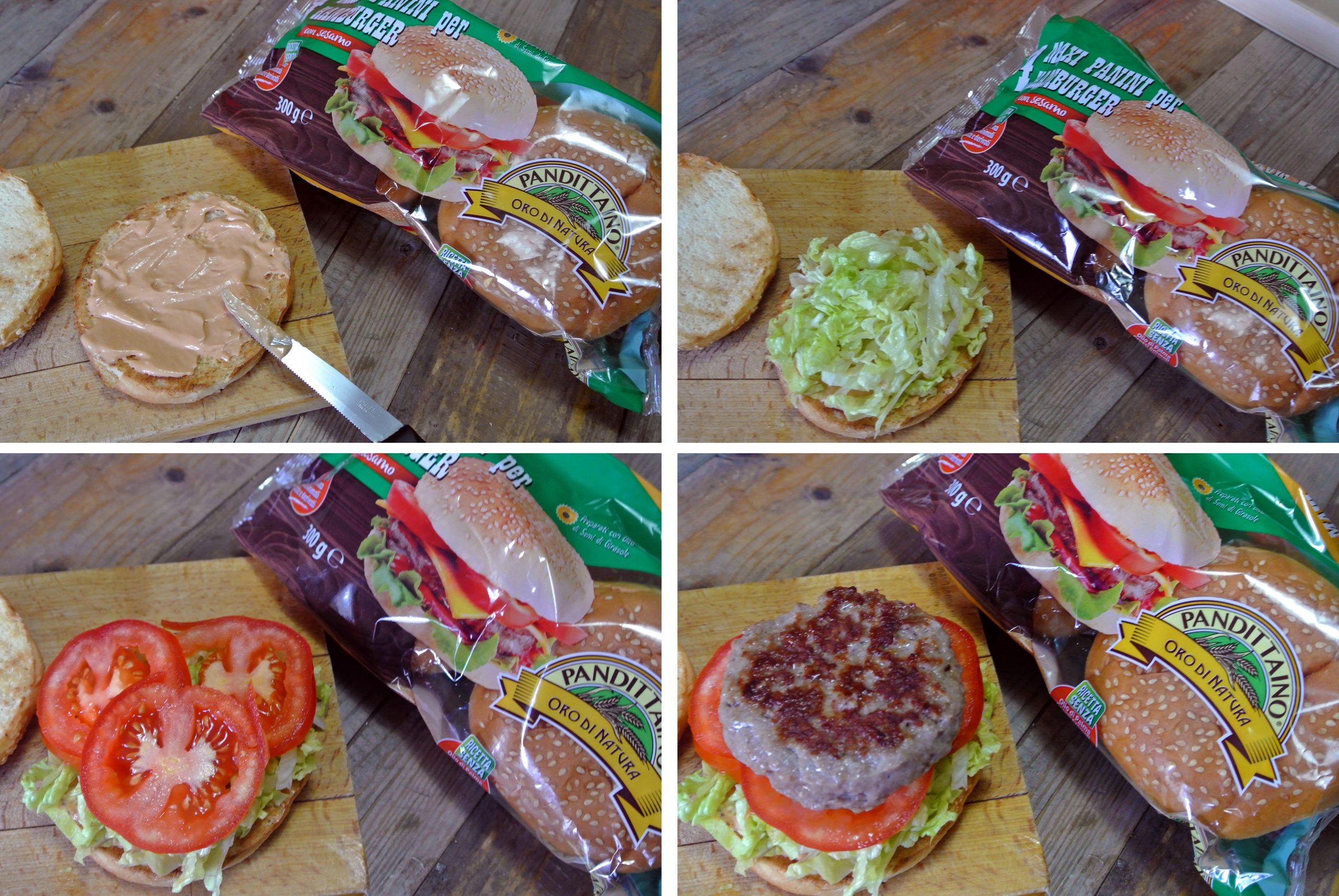 Hamburger di carne