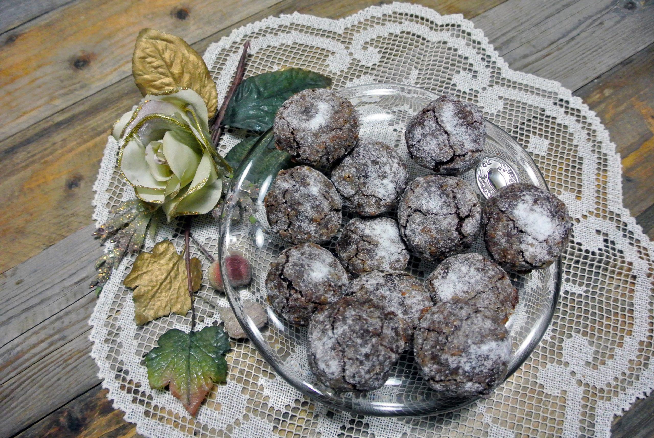 biscotti alle noci al cioccolato