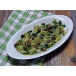Scarola in padella con olive taggiasche
