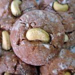 Biscotti al cioccolato con anacardi