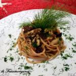 Pasta con lo sgombro alla siciliana