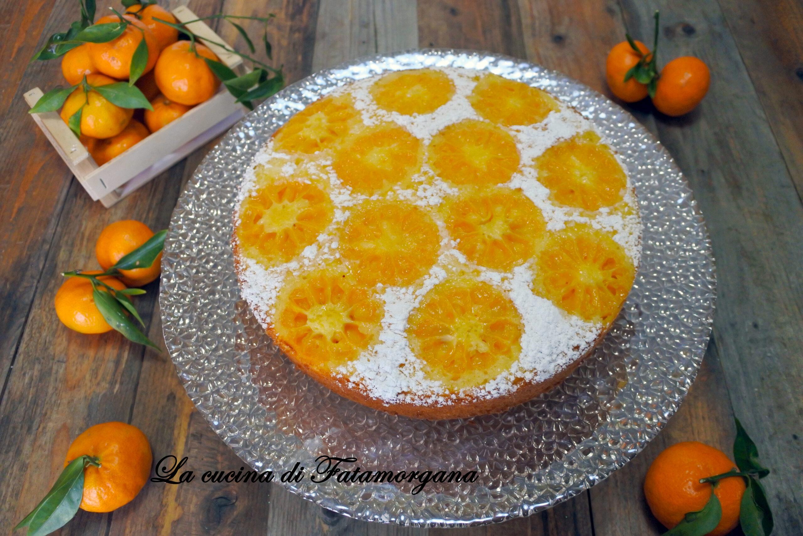 torta rovesciata al mandarino