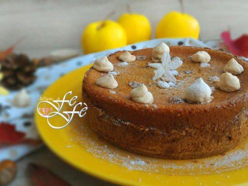 MINI CAKE GLASSATA ALLE MELE, NOCCIOLE E CRÈME FRAÎCHE