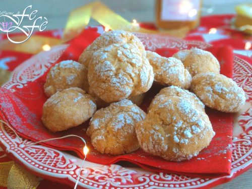 APPLE LEMON CRINKLE COOKIES