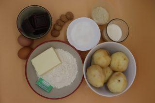 ingredienti crostata pere e cioccolato