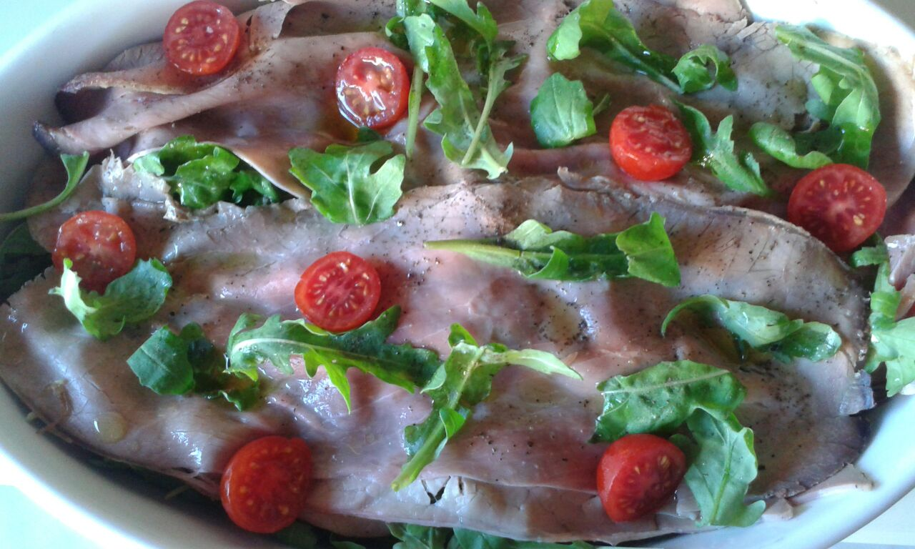 Giardino di roast beff la cucina di giulie - Apericena cosa cucinare ...
