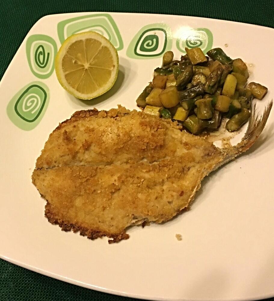 Filetto di sgombro con asparagi all 39 aceto balsamico la for Cucinare sgombro