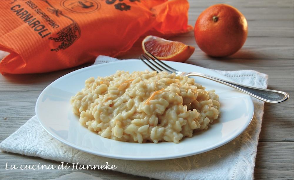 Risotto all'arancia e taleggio