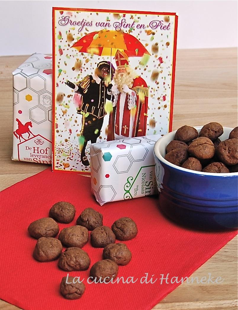 Pepernoten, dolcetti speziati di San Nicola