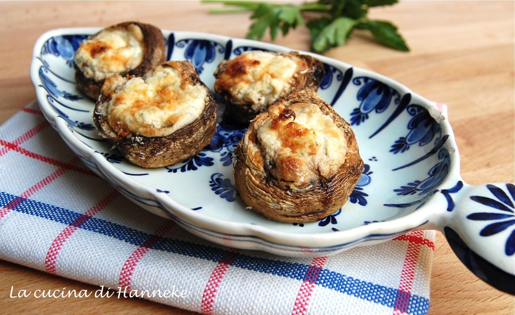 champignon gratinati