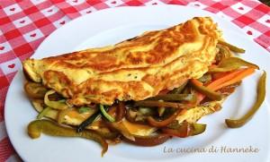 Omelette alle verdure croccanti