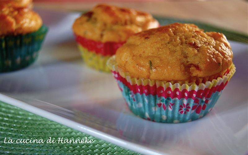 muffin ai pomodorini secchi