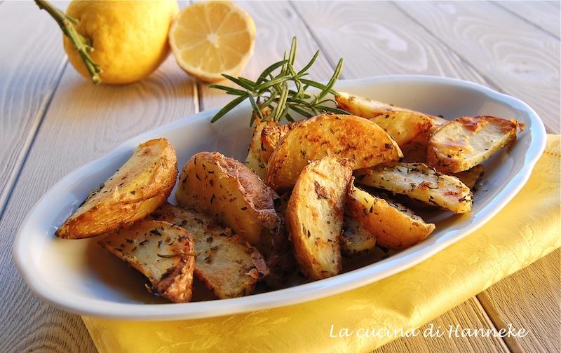 patate aromatiche al limone
