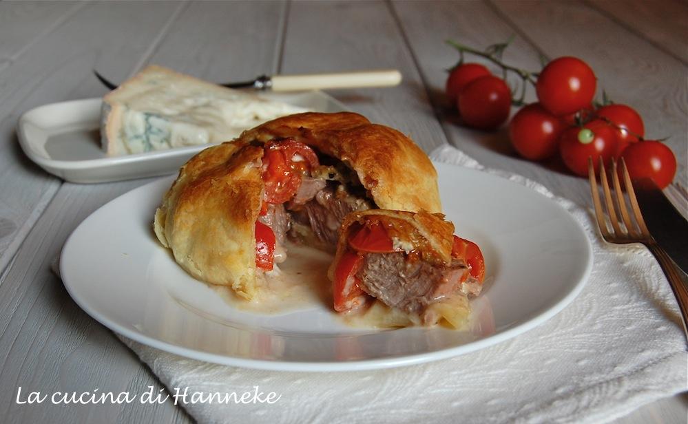 Filetto in crosta, monoporzione
