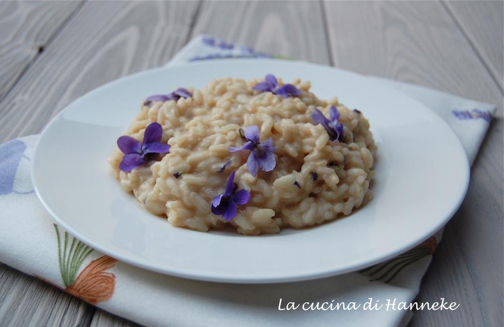 risotto alle violette di bosco  la cucina di hanneke, Disegni interni