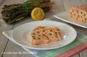 Terrina di salmone agli asparagi