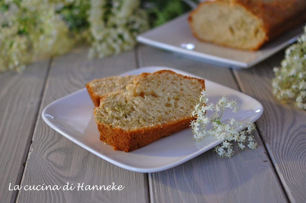 Plumcake ai fiori di sambuco