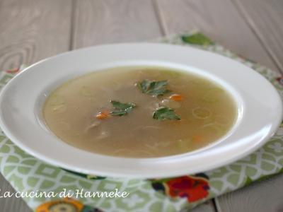zuppa di pollo olandese, kippensoep