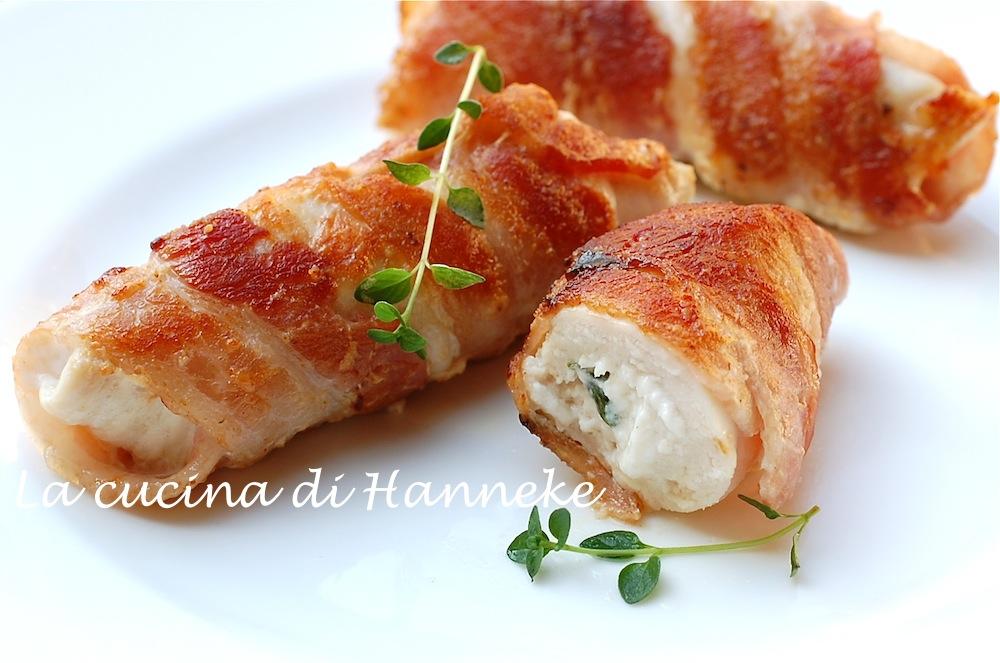 Involtini di pollo al caprino | La cucina di Hanneke