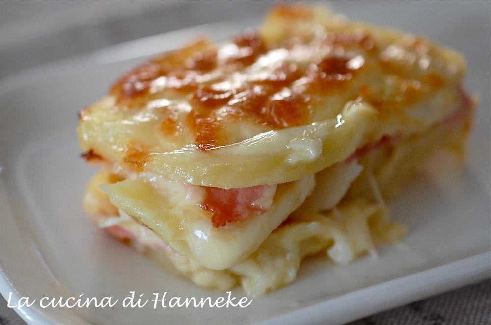 Pasticcio di patate, prosciutto e scamorza - La cucina di Hanneke