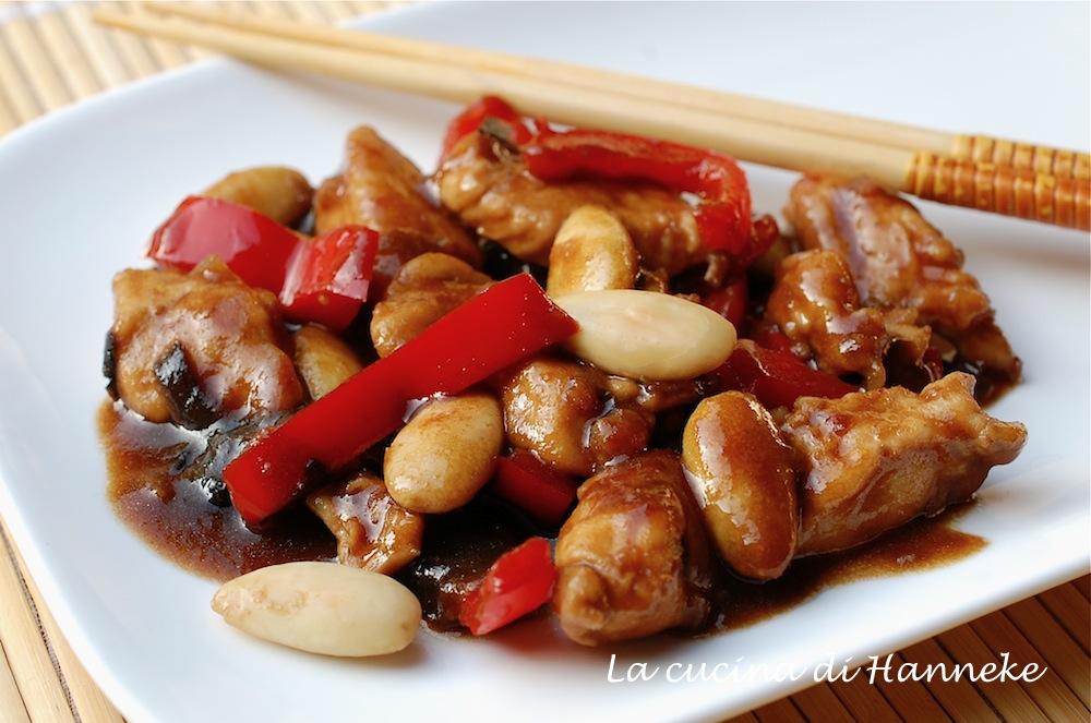 pollo alle mandorle | ricetta etnica | la cucina di hanneke - Cucina Etnica Ricette