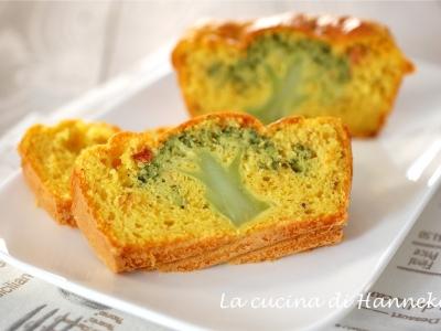 plumcake con broccoli